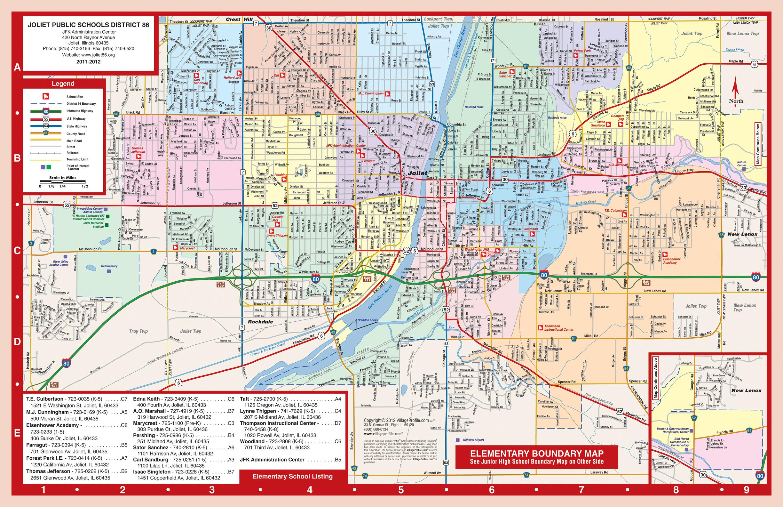 Joliet Il Zip Code Map.Students Parents Students Parents Joliet School District 86