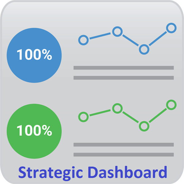 Strategic Dashboard Icon